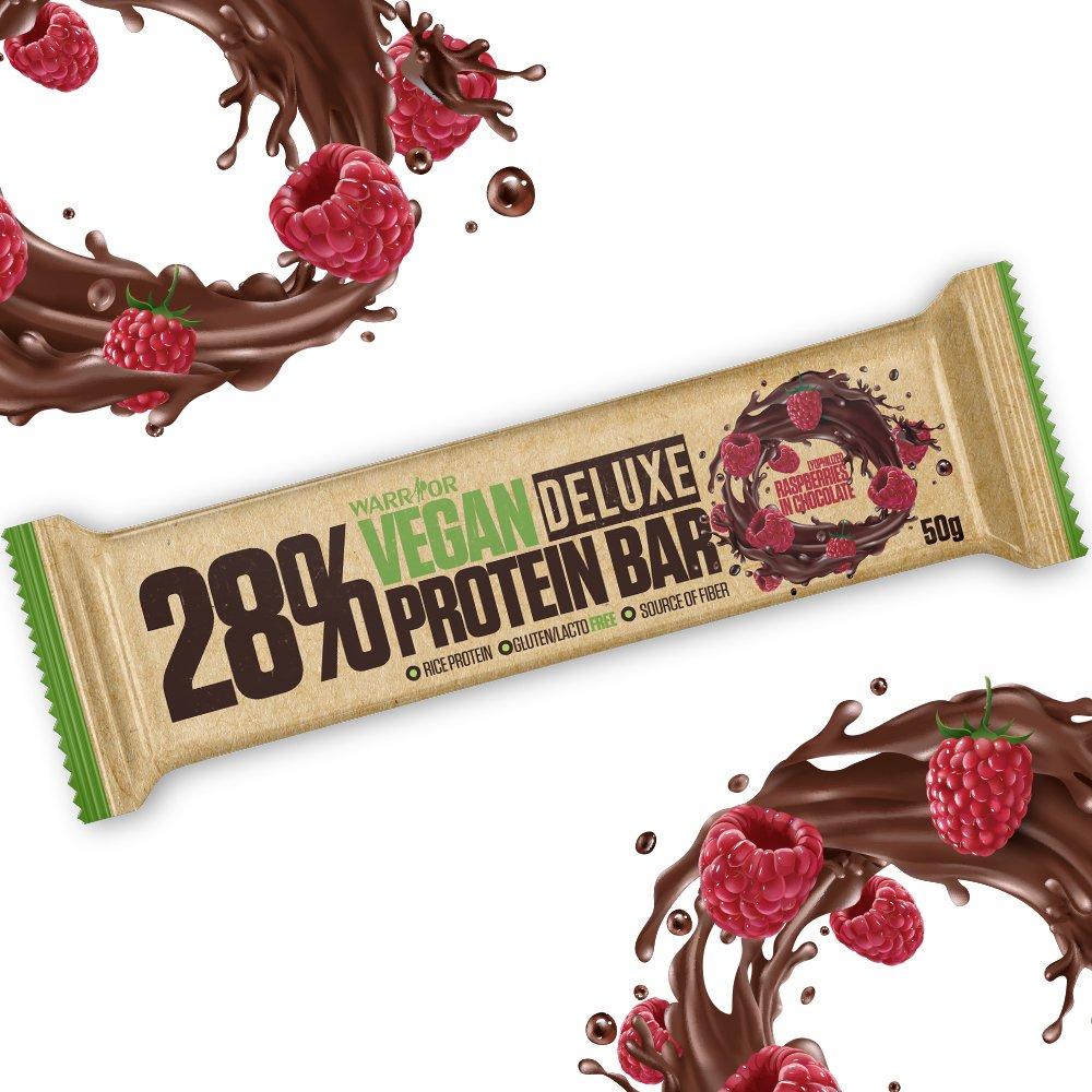 Recenze NaMaximum: Veganská proteinová tyčinka s malinami v hořké čokoládě