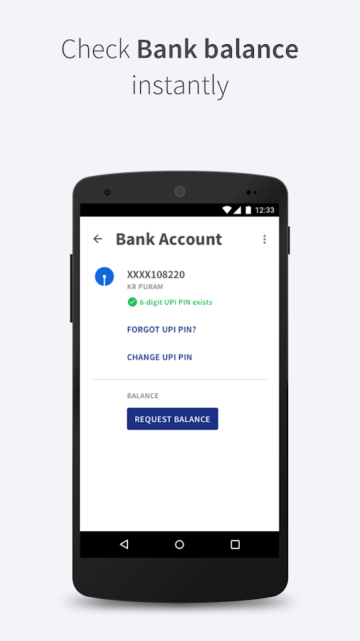 BHIM - MAKING INDIA CASHLESS- screenshot