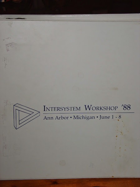 Photo: Intersystem Workshop '88, Ann Arbor, 1 to 8 June 1988, proceedings cover