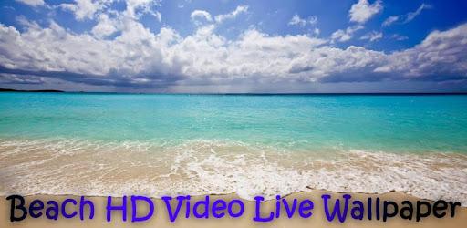 Beach HD Video Live Wallpaper