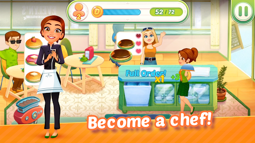 Delicious World - Romantic Cooking Game 1.8.8 screenshots 1
