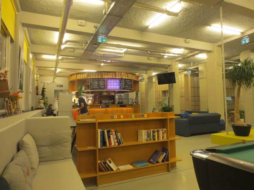 CLink NOORD Reception and Social Space area