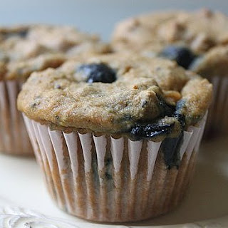 Blueberry Chia Muffins.