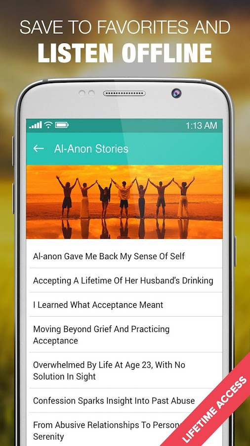 Alanon Personal Recovery Stories Al-Anon & Alateen- screenshot