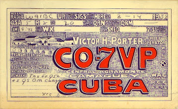 Photo: Otto Eppers Cuba DX Card from 1939