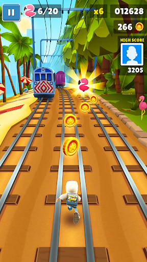 Subway Surfers 1.105.0 APK MOD screenshots 2