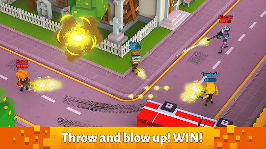 Pixel Arena Online : Multiplayer Blocky Shooter 9