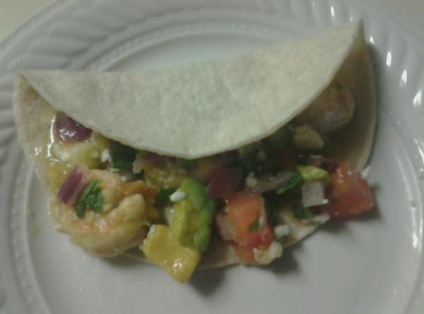 Ceviche Shrimp Soft Tacos Recipe