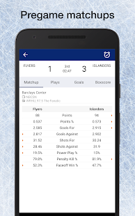 Hockey NHL Schedule, Live Scores, Plays, & Stats - náhled