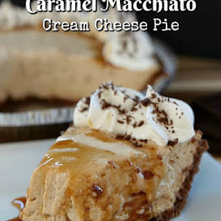 Caramel Macchiato Cream Cheese Pie.