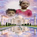 Taj Mahal Photo Frames Editor: DP,Quotes, Greeting icon