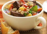 Slow Cooker Barley-beef Soup Recipe