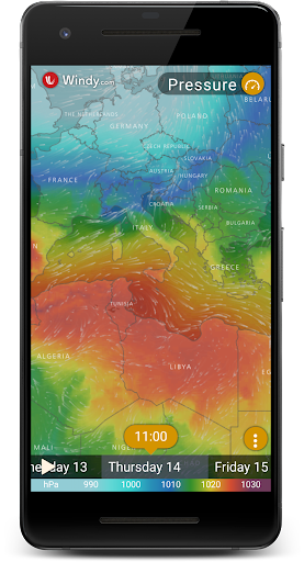 Rain Radar - Animated Weather Forecast Windy Maps 1.0 screenshots 10