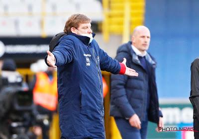 """HVH déçu de l'élimination : """"Bruges méritait la qualification"""""""