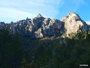 Photo: La Roca de Migdia i la Mola Castellona