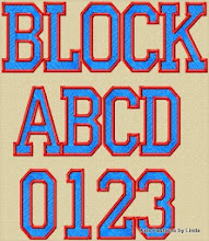 Photo: College Block Filled  and Applique