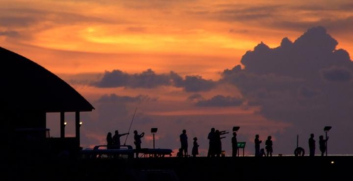 Seguaci di tramonti di Jorjo