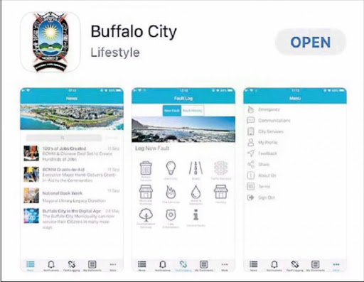 SMART CITY: A screengrab of Buffalo City Metro's new app