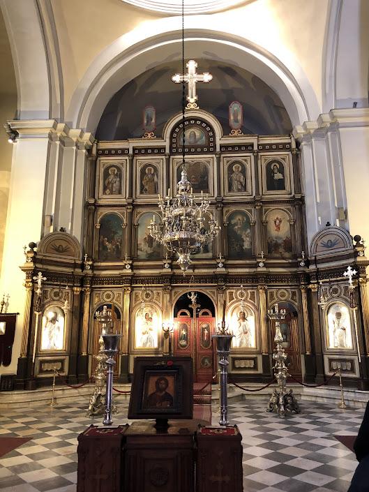 Inside St. Nicholas Church