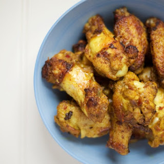 Spicy Curry Chicken Wings.