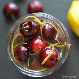 Limoncello Cocktail Cherries.