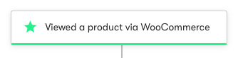 WooCommerce viewed a product Trigger.