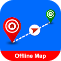 Offline maps: Driving directions, GPS Navigation icon