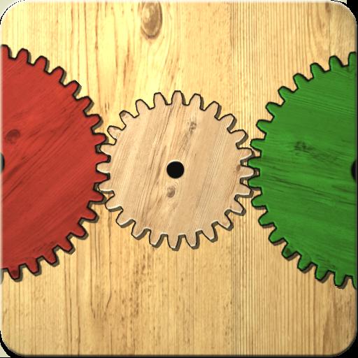 歯車を使った論理的パズルゲーム 解謎 App LOGO-硬是要APP