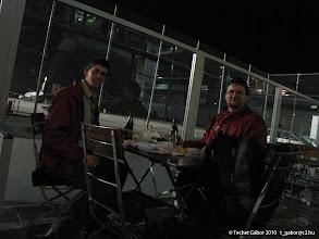 Photo: csövezős vacsora a weeze-i (ejtsd: véce :-D) reptéren