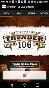 Thunder 106 Live Stream- screenshot thumbnail