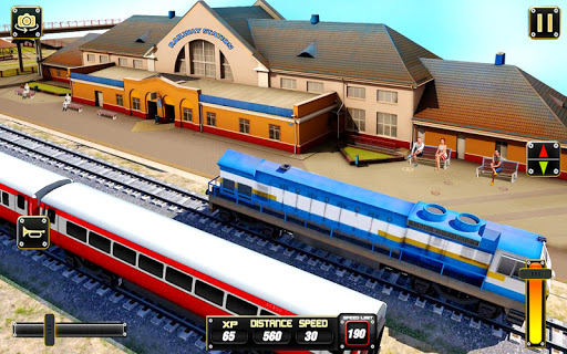 City Train Driving Simulator: Public Train painmod.com screenshots 3