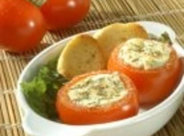 Mozzarella Stuffed Tomatoes And Grilled Sweet Italian Sausage Recipe