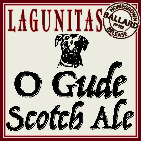 Logo of Lagunitas O Gude Scotch Ale