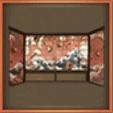 石距の門と窓
