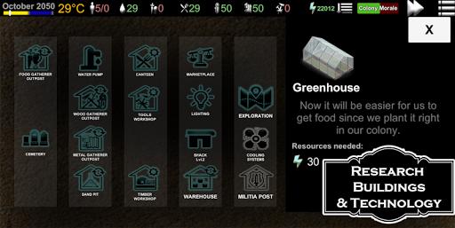 Code Triche TERRA NOVA : Strategy of Survival APK MOD screenshots 4