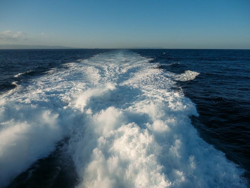 Паром через Гибралтарский пролив
