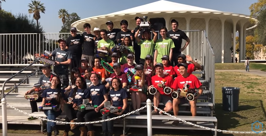 All the amazing competitors for the 2018 Tank Wars Challenge