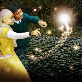 Our Shine by Muhammad Irwansyah - Digital Art People ( digital imaging anna jeffri olah art brush )