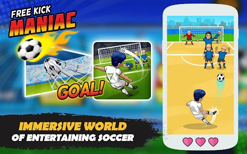 Freekick Maniac: Penalty Shootout Soccer Game 2018 Screenshot