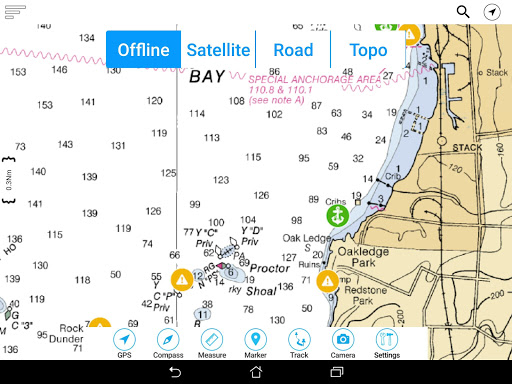 Lake of the Woods Offline GPS Charts screenshot 11