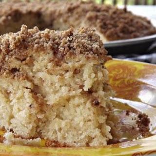 Double Layer Crumb Cake