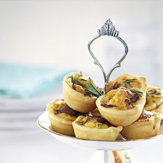 Bacon and Egg Mini Quiches.