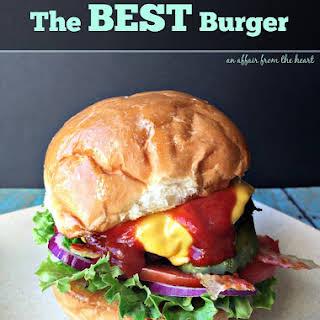 The BEST Burger.