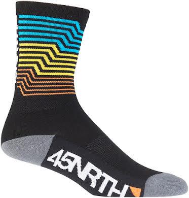 45NRTH Midweight Electric Rift Sock alternate image 0