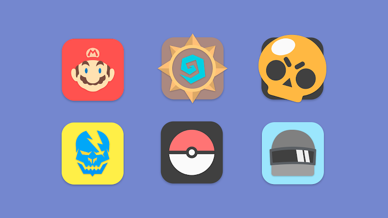 Flat Evo - Icon Pack Screenshot 7
