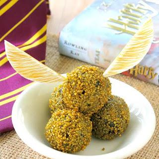Harry Potter Golden Snitch Truffles.