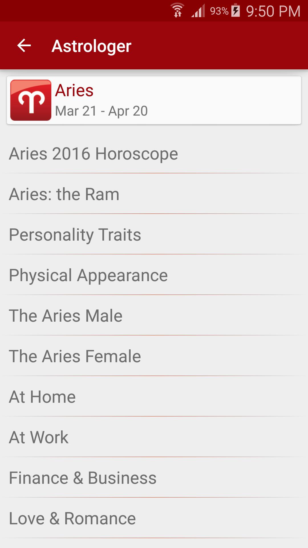 Astrologer screenshot #2