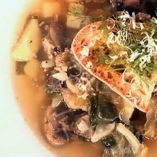 Fennel Sausage Soup.