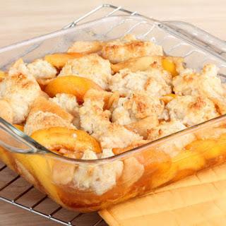 Easy Peach Cobbler Recipe With Fresh Sweet Peaches