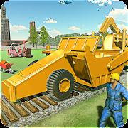 بناء السكك الحديدية - قطار الطريق البناء ألعاب APK